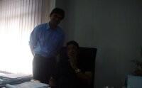 With Mr. Tara Patnaik, Managing Director, Falcon Marine Export Ltd. Bhubaneshwar