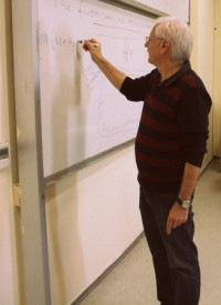 Lecturing at the Yeditepe University, in the BioThermodynamics class
