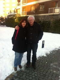 Mustafa and Sibel Özilgen at home, February, 2012