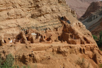 Buddhist monastery ruins discovered in the Tuyuk cave complex