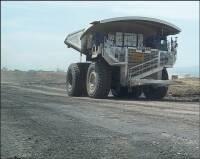 Typical ultra-heavy haul truck