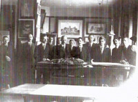 Office of Horace Trumbauer (Abele 4th from left)