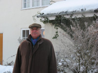 Martin at home in Ellerton, East Yorkshire