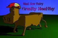 Render: 2D cow