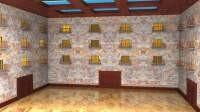 Render: apartment courtyard