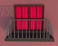 Render: balcony