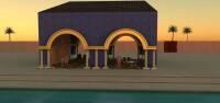Render: giant cabana