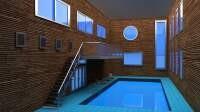 Render: pool room