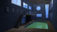 Render: pool room grunge