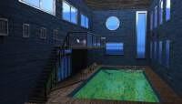 Render: pool room grunged, 2
