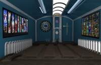 Render: church