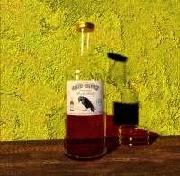 Render: whiskey bottle