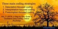 Coding strategies