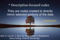 Description-focused codes