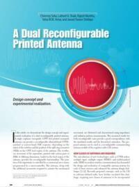Dual Reconfigurable Antennas