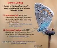 Manual coding