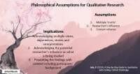Philosophical assumptions