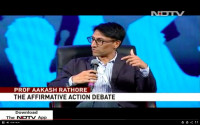 NDTV 24X7: Conversations of the Constitution  Affirmative Action: Constitutiona