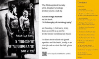 Book Discussion: A Philosophy of Autobiography: Body & Text