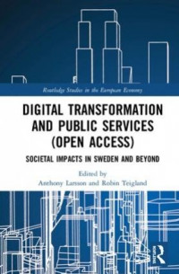 Digital Transformation and Public Services - Book Cover