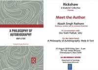 Book Discussion - Meet the Author 23 August 2019, South Asian University, New De