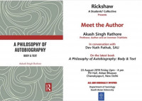 Book Discussion - Meet the Author 23 August 2019, South Asian University, New De