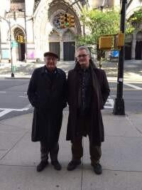 Axel Honneth & Heikki J. Koskinen in New York, October 2019