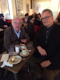 Discussions with Honneth over coffee in New York, October 2019