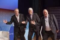 David Pells, Darren Dalcher, and Massimo Pirozzi together at PMexpo2018
