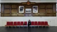 At the Royal Military Academy Sandhurst