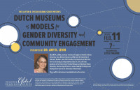 Dutch Museums as Models for Gender Diversity and Community Engagement