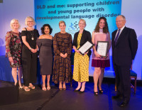Winning RCSLT Clinical Innovation Award for DLD and Me