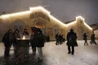 Le Théâtre du Soleil at wintertime
