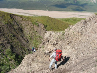 Exploring for dinosaurs in Denali National Park