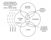 Work roles in organizations: Biddle's (1979) four properties
