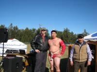 Bill at inaugural Mongolian Festival