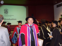 Awarding degree certificates to MSc students at the University of London