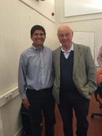 Photo with professor Geert Hofstede