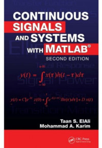 Continuous Signals and Systems with MATLAB, 2nd Edition