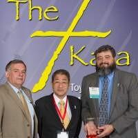 Recieving the Shingo Award